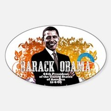 President Obama! Oval Decal