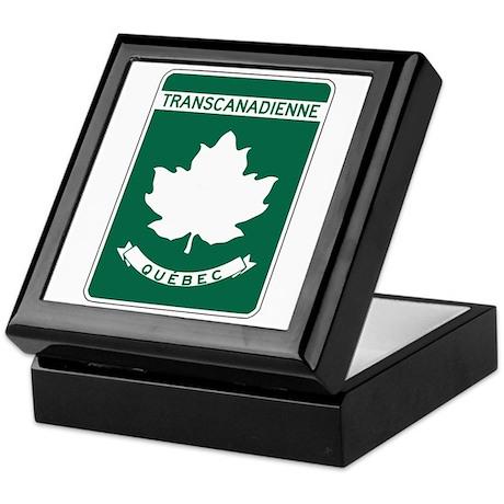 Trans-Canada Highway, Quebec Keepsake Box
