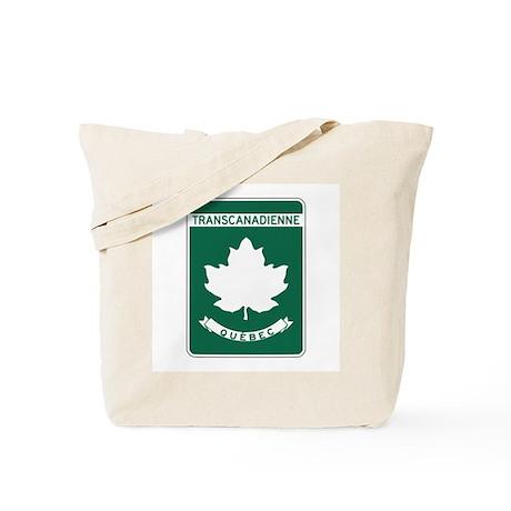 Trans-Canada Highway, Quebec Tote Bag