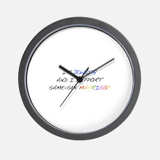 Funny Proposition 8 Wall Clock