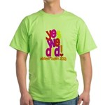 Yes We Did Obama 2008 Green T-Shirt