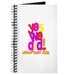 Yes We Did Obama 2008 Journal