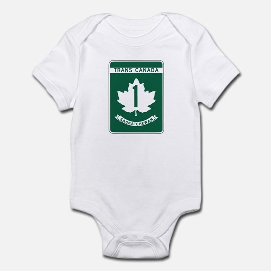 Trans-Canada Highway, Saskatchewan Infant Bodysuit