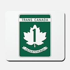 Trans-Canada Highway, Saskatchewan Mousepad