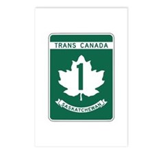 Trans-Canada Highway, Saskatchewan Postcards (Pack