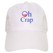 Obama Oh Crap Baseball Cap