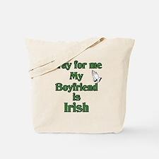 Pray for me My Boyfriend is I Tote Bag