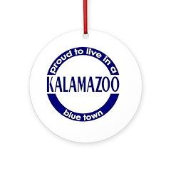 Kalamazoo: Blue Town Holiday Ornament