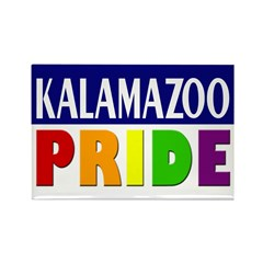 Kalamazoo Pride (Rectangle Magnet)