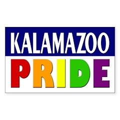 Kalamazoo Pride (bumper sticker)