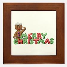 CHRISTMAS COOKIES Framed Tile