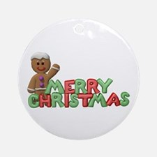 CHRISTMAS COOKIES Ornament (Round)