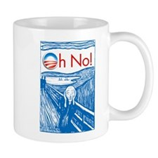 Oh No Obama - Scream Mug
