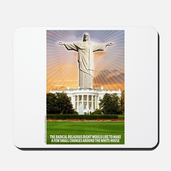 Christ of the White House Mousepad