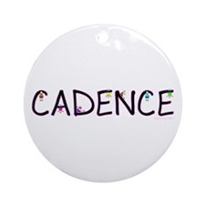 Cadence (Girl) Ornament (Round)