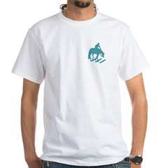 Teal trail horse with poles Shirt