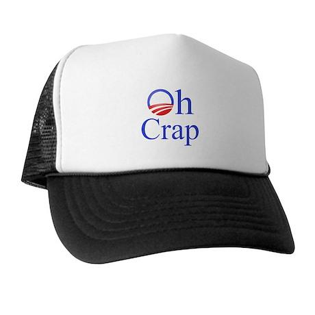 Obama Oh Crap Trucker Hat
