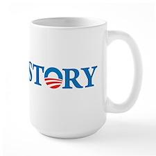Obama Wins History Mug