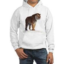 """""""Tiger in the Snow - B2"""" Hoodie"""