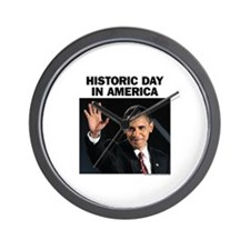Obama Wins! Historic Headline Wall Clock
