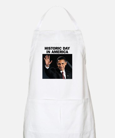 Obama Wins! Historic Headline BBQ Apron