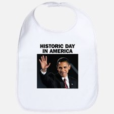 Obama Wins! Historic Headline Bib