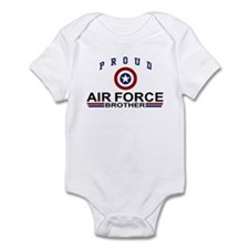 Proud Air Force Brother Onesie
