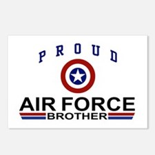 Proud Air Force Brother Postcards (Package of 8)