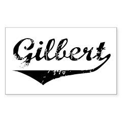 Gilbert Rectangle Decal