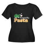 Powered By Pasta Funny Runner Women's Plus Size Sc