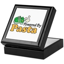 Powered By Pasta Funny Runner Keepsake Box