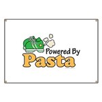 Powered By Pasta Funny Runner Banner