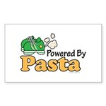 Powered By Pasta Funny Runner Sticker 10 Pack