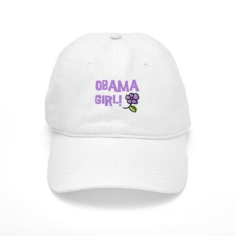 Flower Power Obama Girl Cap