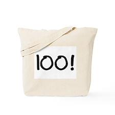 100! Tote Bag