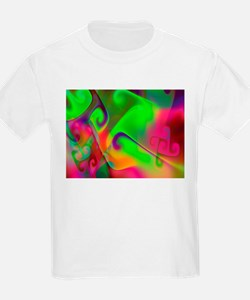 """Luminous 2"" Fractal Art Kids T-Shirt"