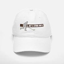 stick it Baseball Baseball Cap