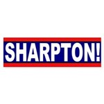 Sharpton! (bumper sticker)