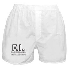 FARTIFICIAL INTELLIGENCE Boxer Shorts