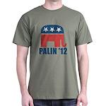Sarah Palin 2012 Dark T-Shirt