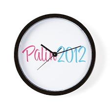 Palin 2012 Wall Clock