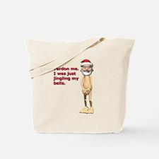 Funny Naked Santa Tote Bag