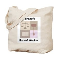 Forensic Social Worker Tote Bag