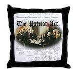 Patriot Act Throw Pillow