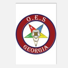 Georgia Order of the Eastern Star Postcards (Packa