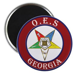Georgia Order of the Eastern Star Magnet