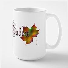 Mabon Autumn Large Mug
