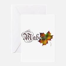 Mabon Autumn Greeting Card