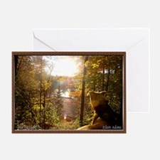 Into the Light... Greeting Card