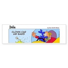Clown car air bags Bumper Bumper Sticker
